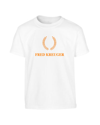 'FRED KREUGER' Fred Perry Parody Halloween T-Shirt (Unisex)