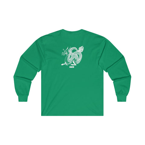 GUY Kelly Green Dragon Unisex Long-Sleeve T-Shirt