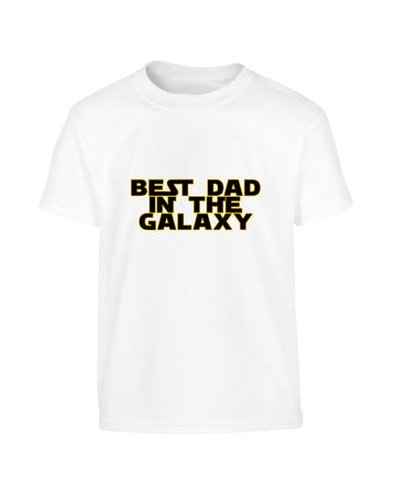 Funny Father's Day 2019 Star Wars Style 'Best Dad In The Galaxy' T-Shirt (Unisex)