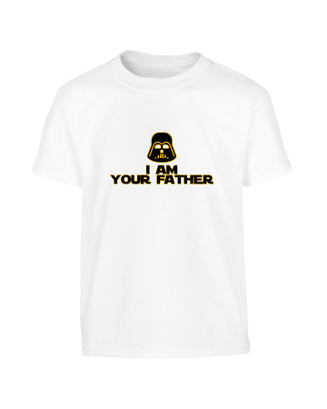 Funny Father's Day 2019 Star Wars Style 'I Am Your Father' T-Shirt (Unisex)