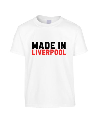 Made in Liverpool Funny Unisex T - Shirt(Unisex)