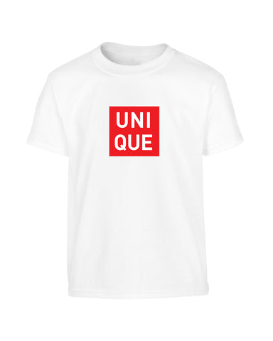 'UNIQUE' Brand Parody T-Shirt (Unisex)