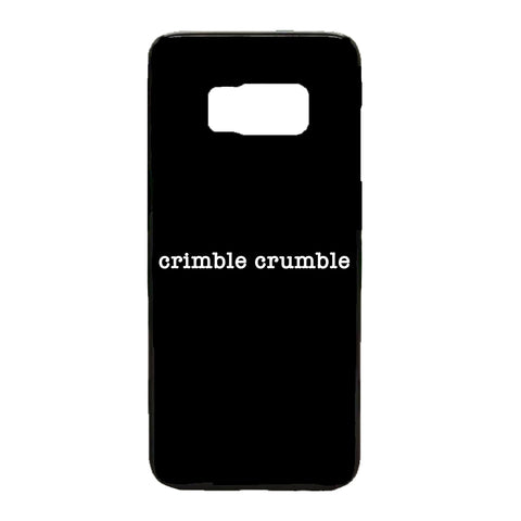 Crimble Crumble Friday Night Dinner Samsung Phone Case (Black)