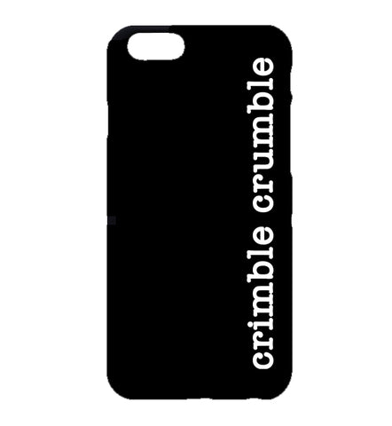 Crimble Crumble Vertical Friday Night Dinner iPhone Case (Black)