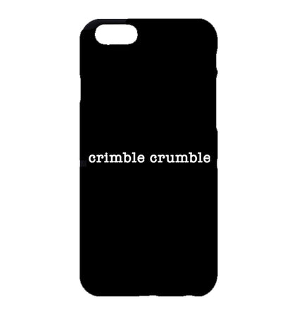 Crimble Crumble Friday Night Dinner iPhone Case (Black)