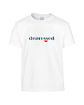 'DEPRESSED' Ellessee Parody T-Shirt (Unisex)