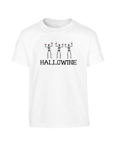 'HALLOWINE' Comedy Halloween T-Shirt (Unisex)