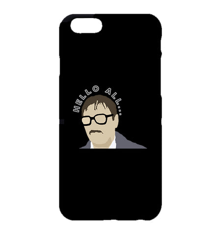 Hello All Jim Friday Night Dinner iPhone Case (Black)