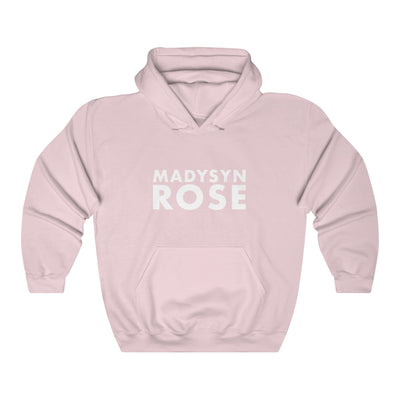 Madysyn Rose Hooded Sweatshirt (Light Pink)