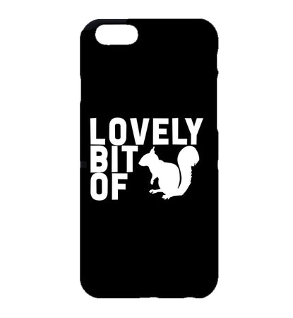 Lovely Bit of Squirrel Friday Night Dinner iPhone Case (Black)