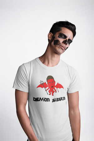 'DEMON ALBARN' Halloween T-Shirt (Unisex)