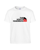 Game of Thrones Inspired North Face Logo Parody 'The North Remembers' Funny T-Shirt (Unisex)