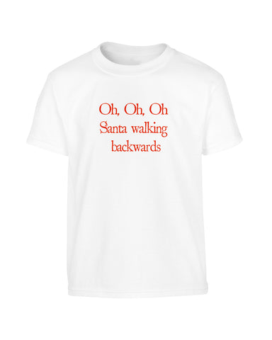 'OH OH OH' Parody Christmas T-Shirt (Unisex)