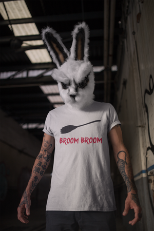 'BROOM BROOM' Funny Halloween T-Shirt (Unisex)