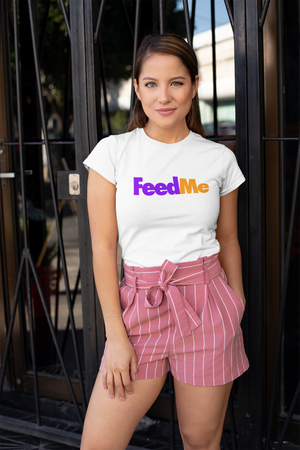 'FEED ME' FedEx Parody T-Shirt (Unisex)