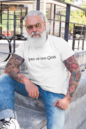 'Lord of the Gins' LOTR Parody T-Shirt (Unisex)