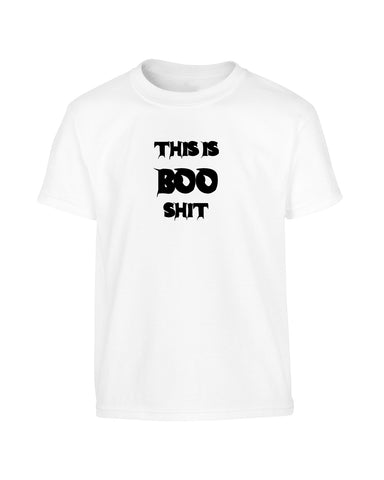 'THIS IS BOO SHIT' Halloween T-Shirt (Unisex)