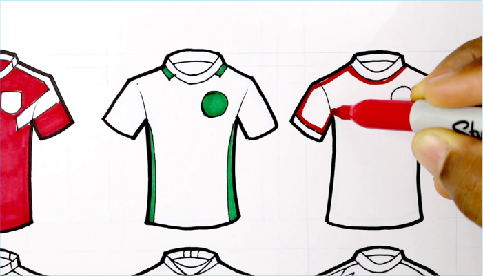 How to design a jersey