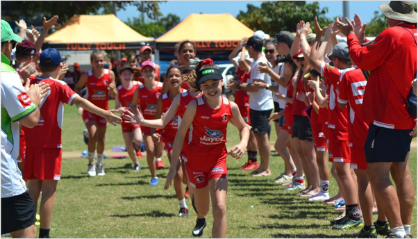 Redskins Touch Football Townsville