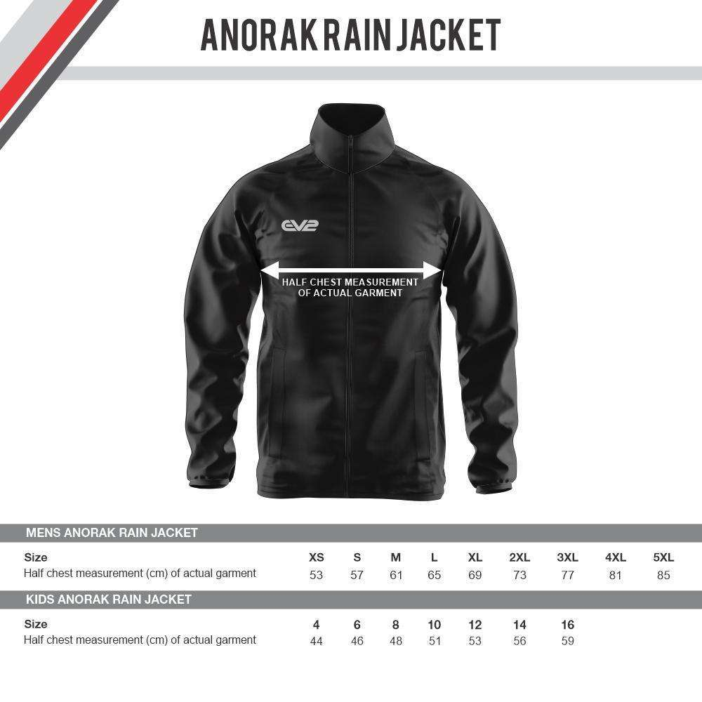 EMU Sportswear:South Brisbane Cricket Club - Anorak Rain Jacket
