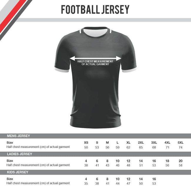 EMU Sportswear:EV2 Demo Shop - Professional Football Jersey