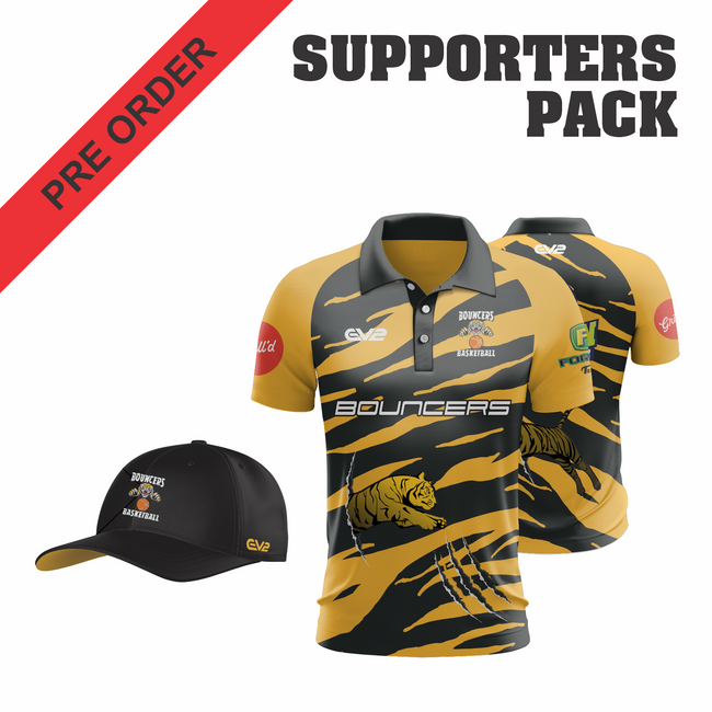 Bouncers Basketball - Supporters Pack