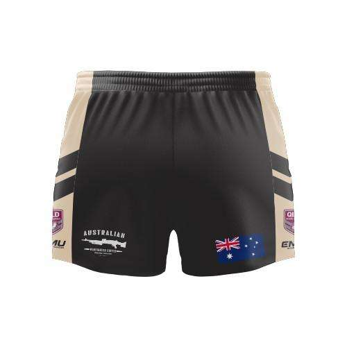 EMU Sportswear:Brisbane Veterans RLFC Rugby League Short