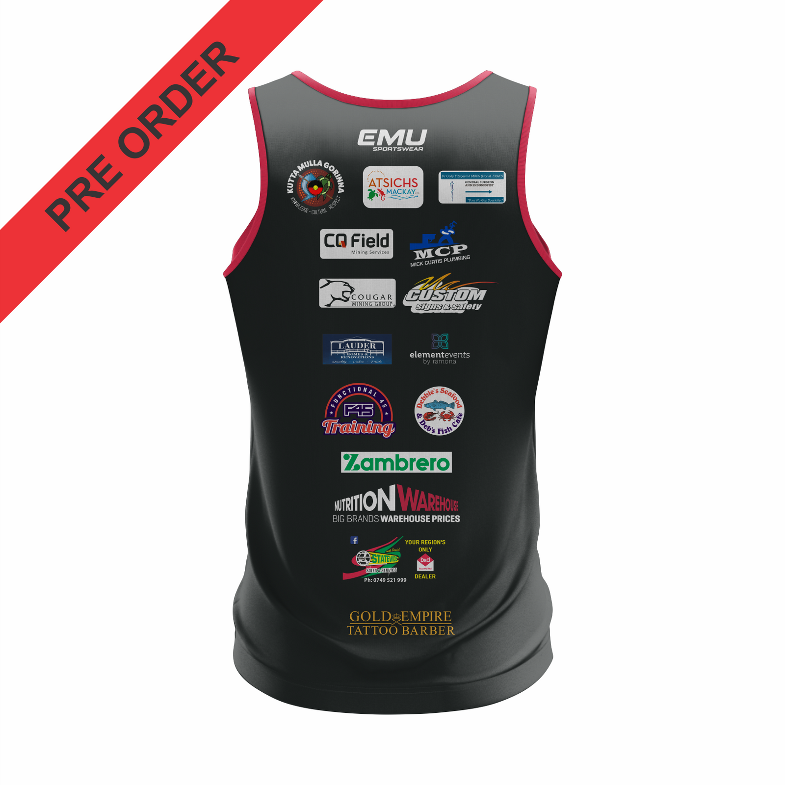 Carltons Senior Rugby League - Training Singlet