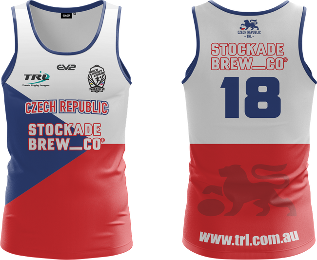 Czech Republic TRL Playing Singlet