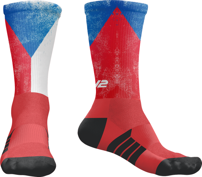 Czech Republic TRL EV2 Pro Crew Sock