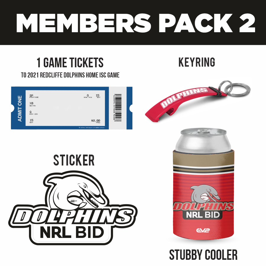 Dolphins Supporter Pack 2