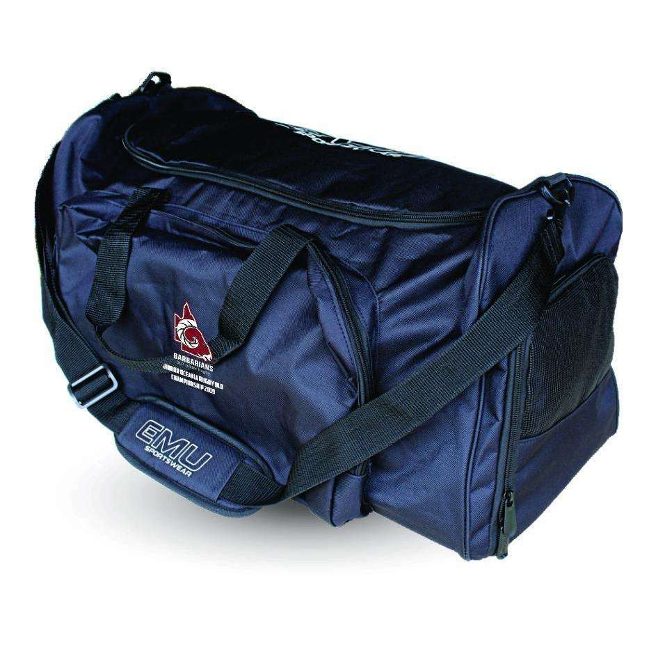 EMU Sportswear:Junior Oceania Rugby - Large Sports Bag (Barbarians)