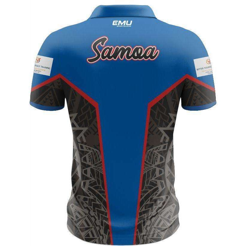 EMU Sportswear:Junior Oceania Rugby - Club Polo (Samoa)