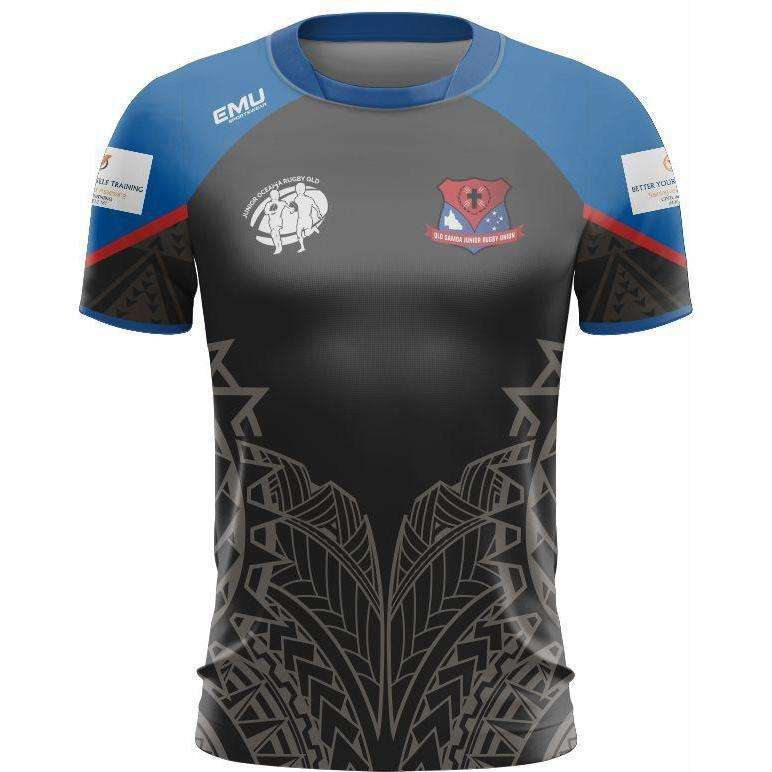 EMU Sportswear:Junior Oceania Rugby - Training Shirt (Samoa)
