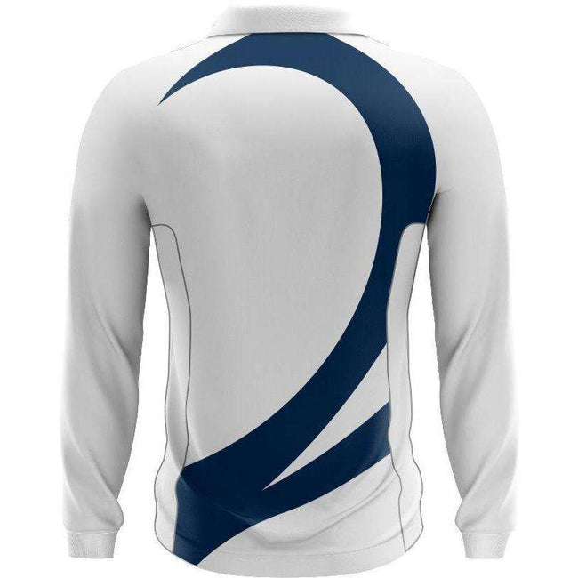 EMU Sportswear:Hillcrest Elite Cricket Shirt - white