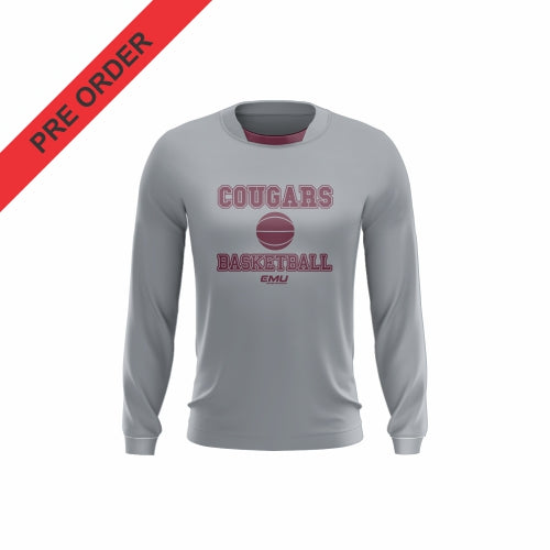 Mount Gambier Basketball - Training Shirt (Long Sleeve) - Cougars