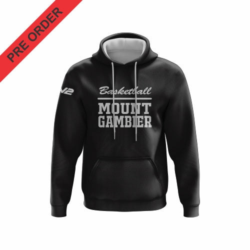Mount Gambier Basketball - Traditional Hoodie (White)