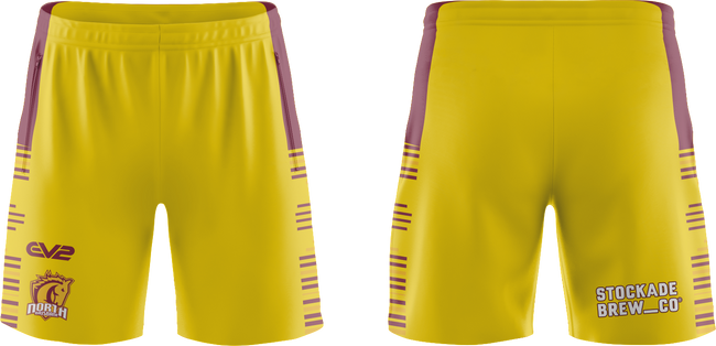 North Brisbane Bucks TRL Playing Shorts 2