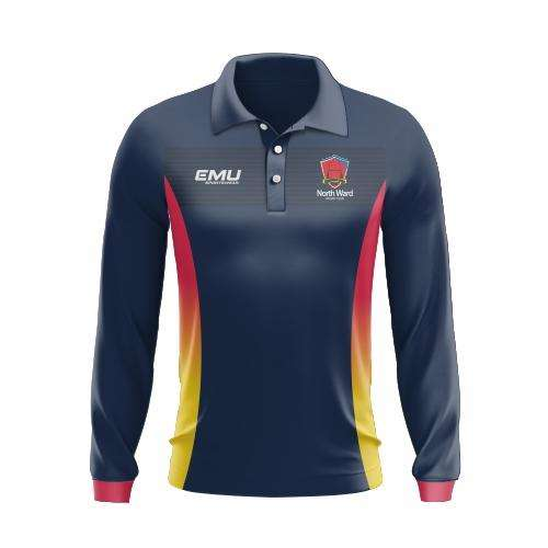 EMU Sportswear:North Ward Rugby Club - Long Sleeve Sun/Fishing Shirt