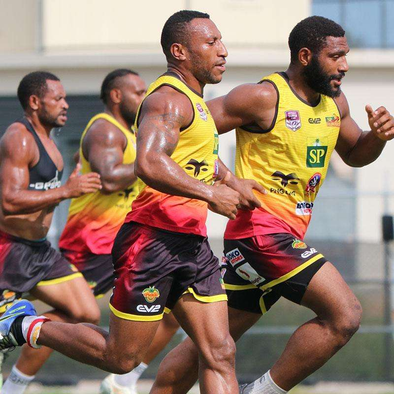 EMU Sportswear:2019 SP PNG Hunters Training Singlet