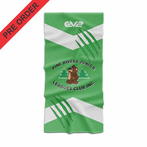 Pine Rivers Bears JRL Beach Towel