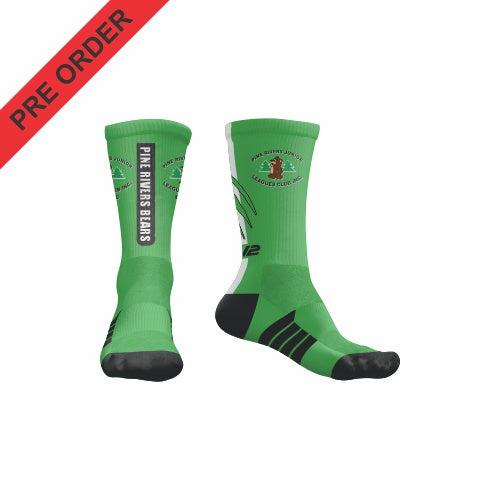 Pine Rivers Bears - EV2 Pro Crew Sock