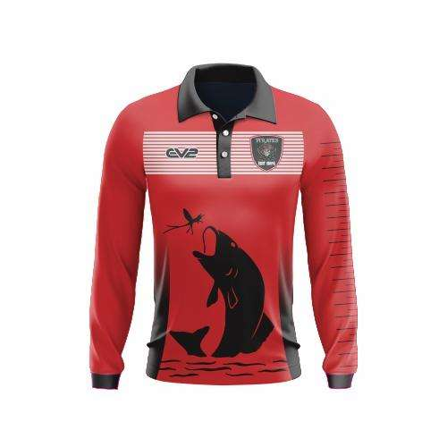 EMU Sportswear:Port Macquarie Pirates Rugby - Long Sleeve Fishing Shirt