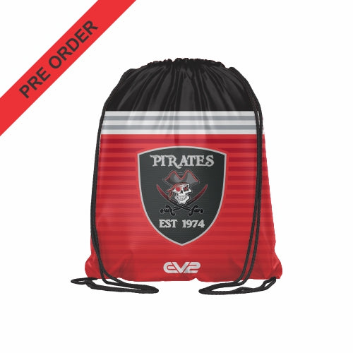 Port Macquarie Pirates Rugby - Sublimated Drawstring Bag