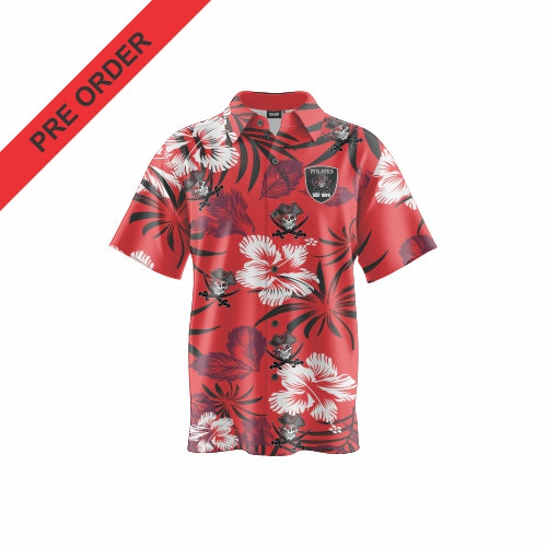 Port Macquarie Pirates Rugby - Resort Shirt
