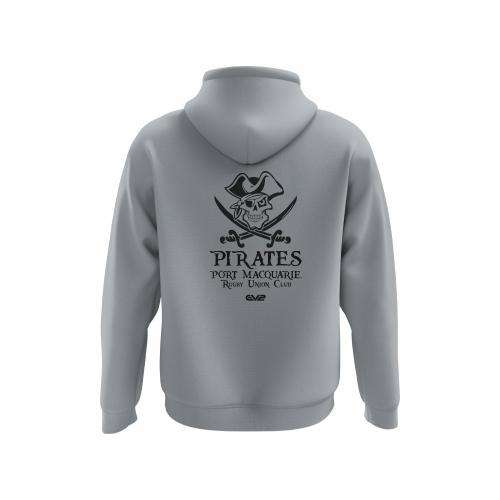EMU Sportswear:Port Macquarie Pirates Rugby - Traditional Hoodie