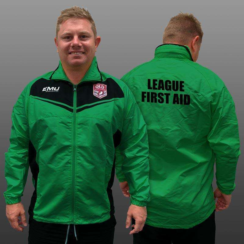 QRL Green League Safe League First Aid Jacket