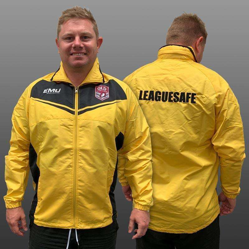 EMU Sportswear:QRL Yellow League Safe Jacket
