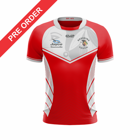 Redskins Touch Football Townsville - Playing Singlet (GIRLS/LADIES)