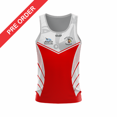 Redskins Touch Football Townsville - Lycra Shorts